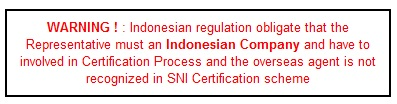 SNI Certification Agent